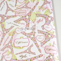 Kertas Kado Eiffel Paris Romance / Wrapping Paper