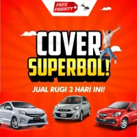 Cover Mobil / Sarung Mobil / Body Cover Brio Agya Ayla Mirage March