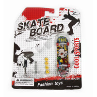 Jual BEST SELLER Mainan Skateboard Finger Board Skatepark Isi 1 Pcs Fashion Murah
