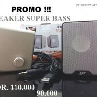 Speaker Multimedia SW-280 Super Bass Suport Smartphone,DVD,TV dll