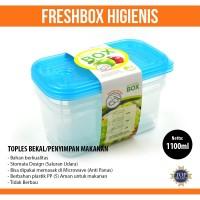 PROMO 3pcs Tempat Makan Bekal Higienis 1100ml/Tupperware