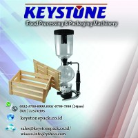 Coffee Maker Hario Syphone 5 cup (TCA - 5) Khusus Packing Pallet/kayu