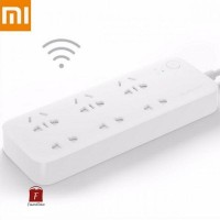 Jual Xiaomi Mi Smart Power Strip Plug Adapter with Remote Control Function Murah