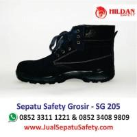 Sepatu Safety Lokal  SG 205 Murah Hildan Safety Surabaya