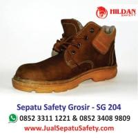 Beli Sepatu Safety SG 204  Murah Online Hildan Safety