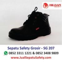 Pengrajin Sepatu Safety SG 207  Lokal Hildan Safety Murah