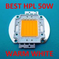 Jual Best HPL 50W Wide Cooling Warm White High Power LED Kuning Pijar Murah