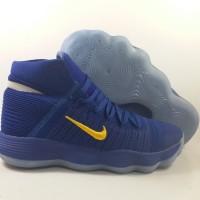 Sepatu Basket Nike Hyperdunk 2017 HD 17 High Flyknit Blue Yellow