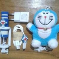 Jual Sale Paket Hemat Special Doraemon . Tongsis Charger Samsung  Murah