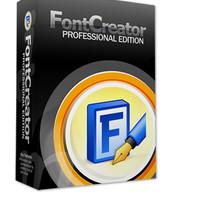 Aplikasi membuat font FontCreator 11