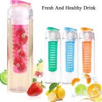 Jual Tritan Fruit Infuser Water Bottle BPA Free | Botol Minum Sari Buah Murah
