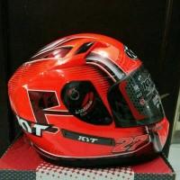 Jual helm fullface KYT K2 Rider SE Andi Gilang K2Rider Red     Murah