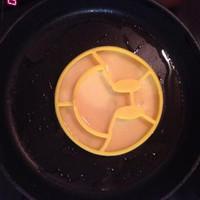Jual Smile cetakan omelette telur shape silicone mold egg   (PC) Murah