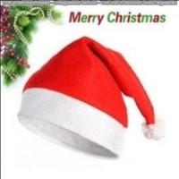 Jual topi santa claus natal merry christmas hat   (PC) Murah