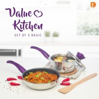 Jual Wajan/Panci - Value Kitchen (Set of 3) Murah