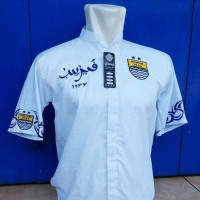 Baju Koko Persib Arab Putih