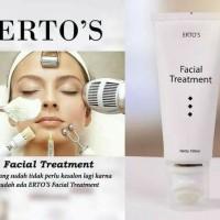 Jual PEMBERSIH PEMUTIH WAJAH     Ertos Facial Treatment  ALAMI ORIGINAL Murah