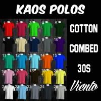 Jual Kaos Polos COTTON COMBED 30s Size ( S, M, L ) Murah