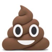 Power Bank Emoji Model Kotoran 2600mAh Coklat