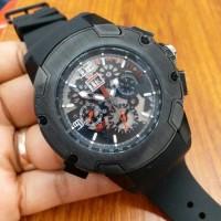 Jual jam tangan pria mewah richard mille 032 black metic super premium Murah