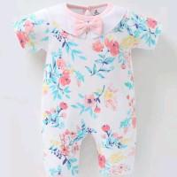 Jual Romper Jumpsuit Bayi Jumper Baby Carters Collar : Pink Flower Murah