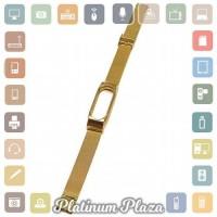 Jual Watchband Milanese Stainless Steel Xiaomi Mi Band 2 OEM Golden Murah