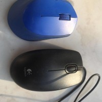 Jual Mouse logitech wireless M280 dan B100 ORI + Bag Pack Mini Murah