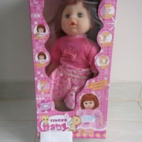 Boneka Susan Singing Baby Banyak Fungsi 6 in 1 Bahasa Indo & Inggris