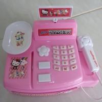 Mainan Mini Cashier Cash Register dan Kelengkapan