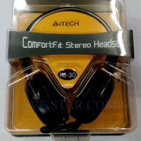 headset headphone earphone gaming a4tech hs 30 hs-30