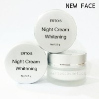 Jual Ertos Night Cream Whitening Original Murah