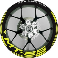 RIM Stiker Velg Yamaha MT-25