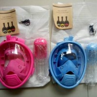 List Harga full face Sekitar Jakarta di Pusatelektro Page 2. free breath  full face snorkeling mask for kids 4d50cba133