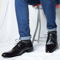 Sepatu Pantofel Pria - PREMIUM Wetan Nusantara 2 - HARGA PROMO