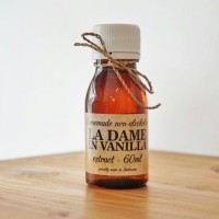 HALAL MUI La Dame in Vanilla Extract 60ml Ekstrak Vanilla Non-Alkohol