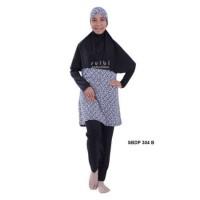 Baju Renang Wanita Muslimah Jumbo XXL dan 4L Dewasa Sulbi-SBDP-304-B