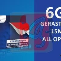 kartu perdana internet xl 6gb data 3 gb kuota 2gb + 1gb youtube go 5gb