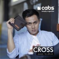 Cabs Cross Dompet Branded Pasport, Kartu, Buku Tabungan, Uang, HP