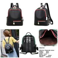 Jual Tas Ransel Wanita Import Three Tone Size Studded Backpack BAG2746 Murah