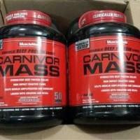 carnivormass 6 lbs carnivor mass 6 lb weight Gainer musclemeds