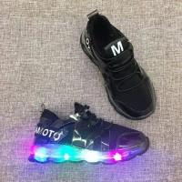 Jual shoes celebrity led Black Murah