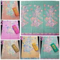 B233 Kain Batik Soft Pastel Encim Tutul | Bisa Set Dengan Embos