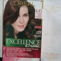 LOREAL EXCELLENCE CREAM NO.4.45 MAHOGANY COPPER BROWN