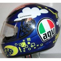 AGV K3 Double Take (Limited Rossi Face) BNIB sisa 1 harga miring !