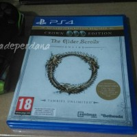 The Elder Scrolls Online Tamriel Unlimited PS4 Playstation Bluray Game