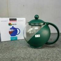 Teapot Nagako Aurora 1250 Ml Teko Saringan Teh Minuman Kopi 1250Ml