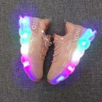 Jual shoes celebrity led pink Murah