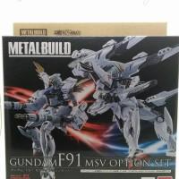 Metal Build Gundam F-91 MSV option parts set