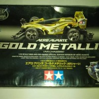Kit Tamiya Aero Avante Gold metallic