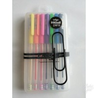 Smiggle 7 Scented Inkball Pens + Scented Band